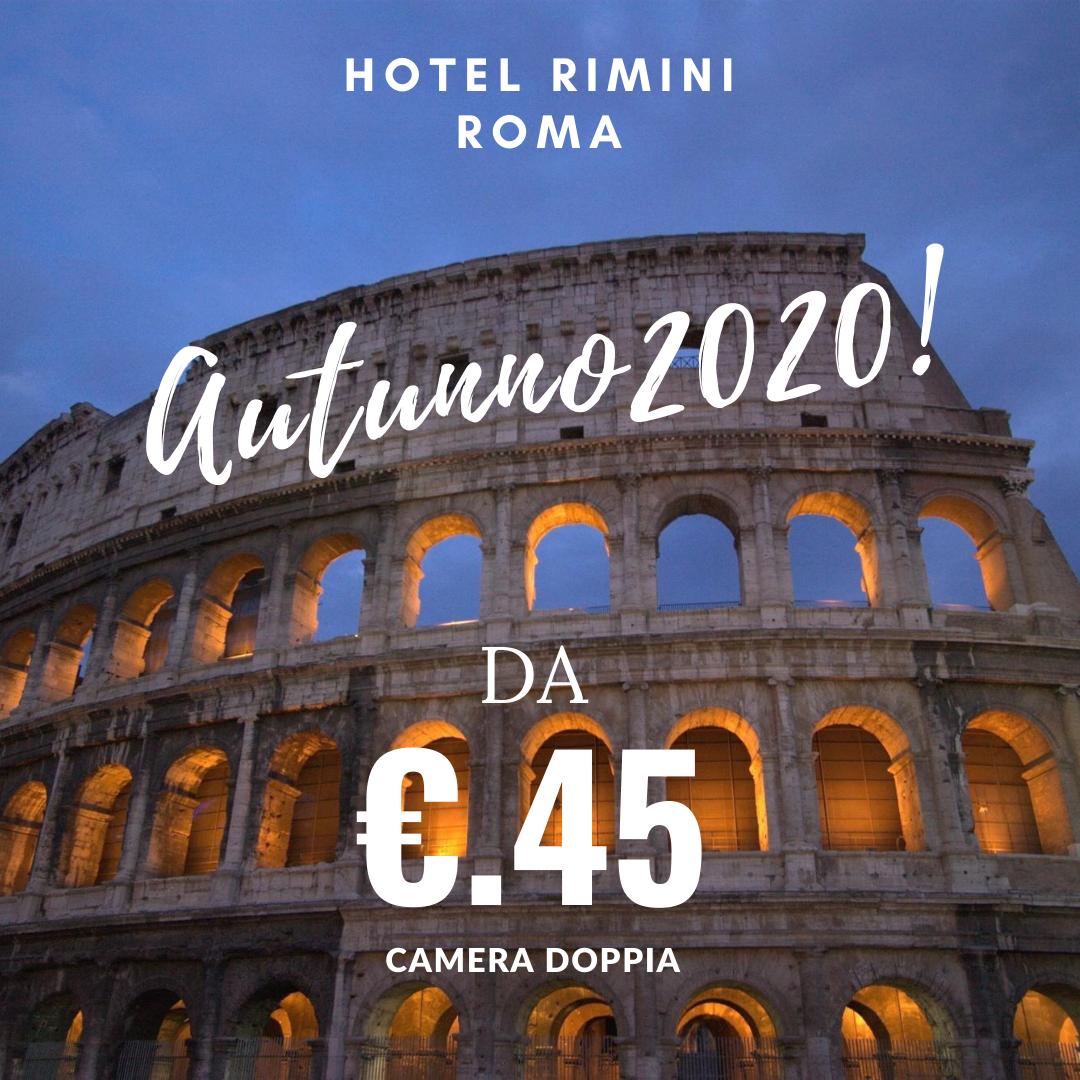 HOTEL RIMINI ROMA AUTUNNO